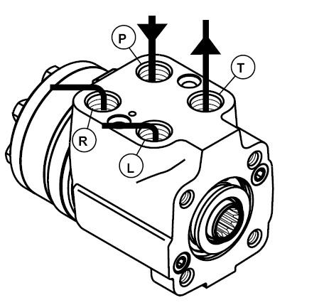 Насос-дозатор 100А15 для МТЗ-80, МТЗ-82, ЮМЗ (аналог Д00.